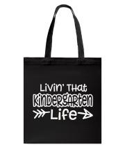KINDERGARTEN Tote Bag thumbnail