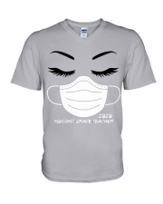 2ND GRADE TEACHER V-Neck T-Shirt thumbnail