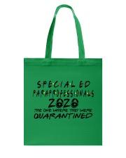 SPED PARA Tote Bag thumbnail