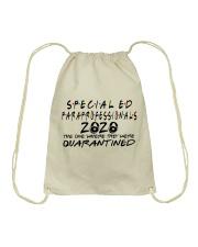 SPED PARA Drawstring Bag thumbnail