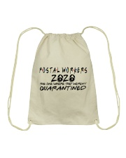 POSTAL WORKERS Drawstring Bag thumbnail