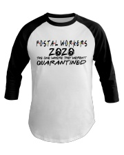 POSTAL WORKERS Baseball Tee tile