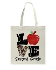 LOVE 2ND GRADE Tote Bag thumbnail