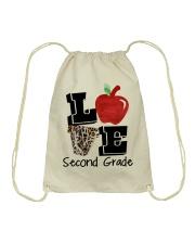 LOVE 2ND GRADE Drawstring Bag thumbnail