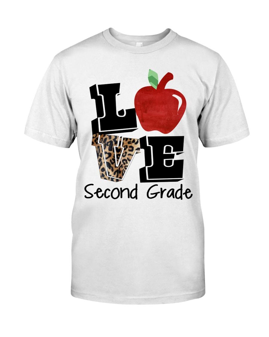 LOVE 2ND GRADE Classic T-Shirt