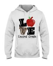 LOVE 2ND GRADE Hooded Sweatshirt thumbnail