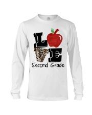 LOVE 2ND GRADE Long Sleeve Tee thumbnail