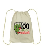 1ST GRADER SHARPER Drawstring Bag thumbnail