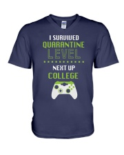 COLLEGE LEVEL V-Neck T-Shirt thumbnail
