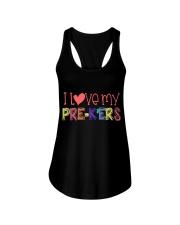 PRE-K'ERS - I LOVE YOU Ladies Flowy Tank thumbnail