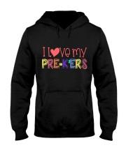 PRE-K'ERS - I LOVE YOU Hooded Sweatshirt thumbnail