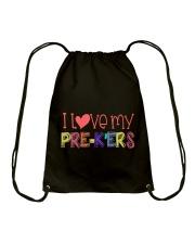 PRE-K'ERS - I LOVE YOU Drawstring Bag thumbnail