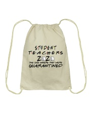 STUDENT TEACHERS  Drawstring Bag thumbnail
