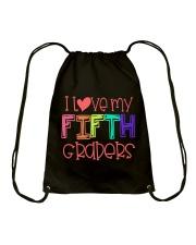 5TH GRADERS - I LOVE YOU Drawstring Bag thumbnail