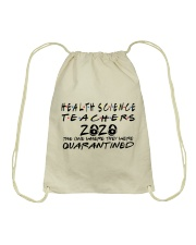 HEALTH SCIENCE TEACHERS Drawstring Bag thumbnail
