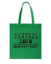 LITERACY COACHES Tote Bag thumbnail