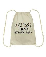 LITERACY COACHES Drawstring Bag thumbnail