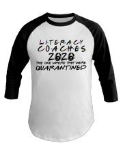 LITERACY COACHES Baseball Tee thumbnail