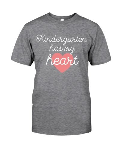 KINDERGARTEN HAS MY HEART - TEACHER