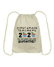 1ST GRADE TEACHER Drawstring Bag thumbnail