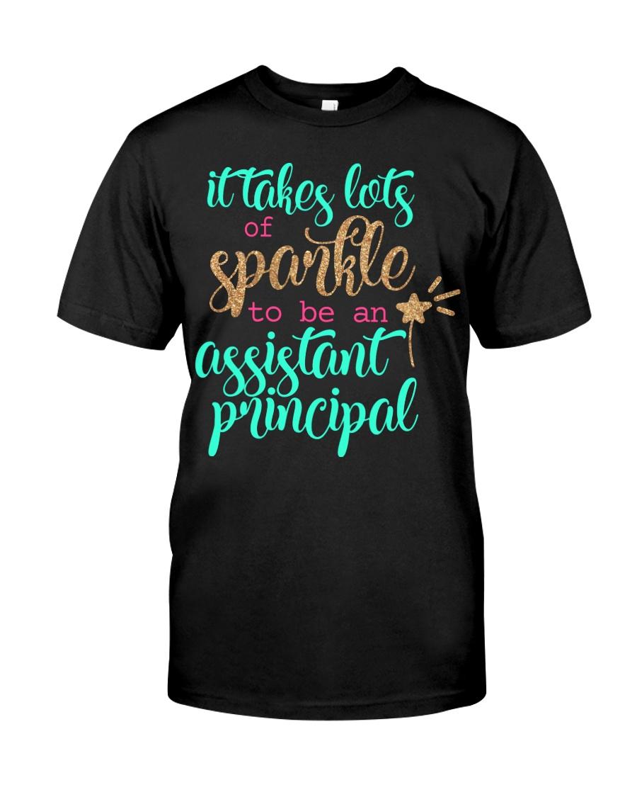 ASSISTANT PRINCIPAL SPARKLE Classic T-Shirt