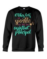 ASSISTANT PRINCIPAL SPARKLE Crewneck Sweatshirt thumbnail