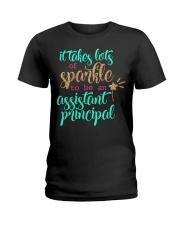 ASSISTANT PRINCIPAL SPARKLE Ladies T-Shirt thumbnail