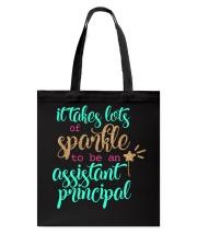 ASSISTANT PRINCIPAL SPARKLE Tote Bag thumbnail