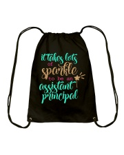 ASSISTANT PRINCIPAL SPARKLE Drawstring Bag thumbnail