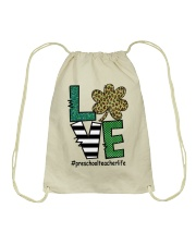 PRESCHOOL LIFE LUCK Drawstring Bag thumbnail