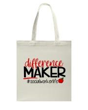 SOCIAL WORKER LIFE Tote Bag thumbnail