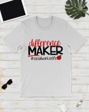 SOCIAL WORKER LIFE Classic T-Shirt lifestyle-mens-crewneck-front-17