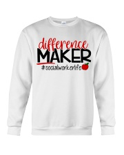 SOCIAL WORKER LIFE Crewneck Sweatshirt thumbnail