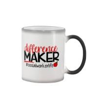 SOCIAL WORKER LIFE Color Changing Mug thumbnail