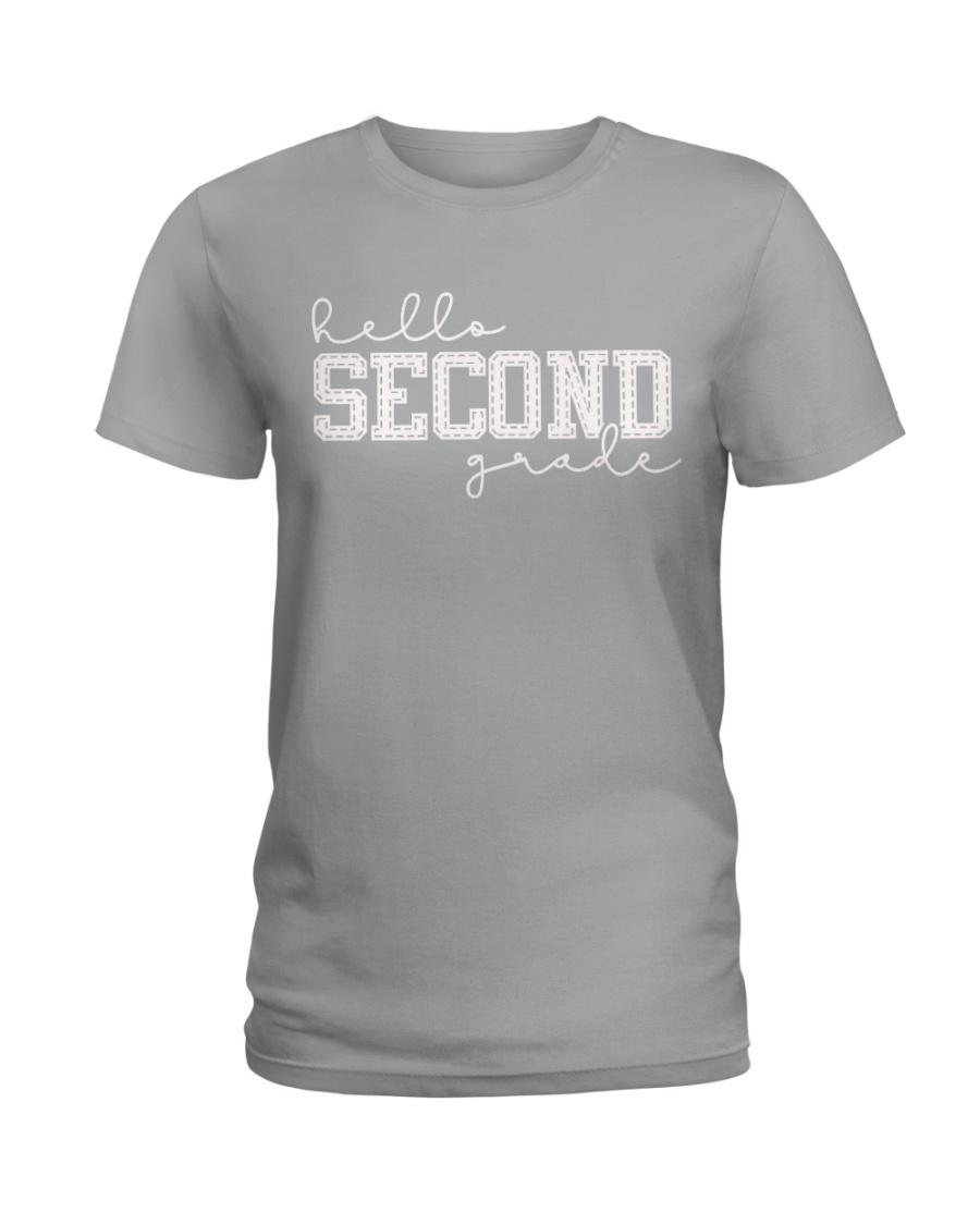 HELLO SECOND GRADE Ladies T-Shirt