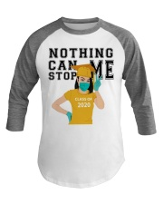 YELLOW - NOTHING CAN STOP ME Baseball Tee thumbnail