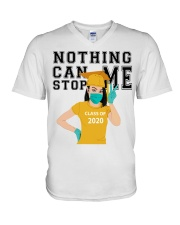 YELLOW - NOTHING CAN STOP ME V-Neck T-Shirt thumbnail