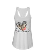 TEACHING IS HEART WORK Ladies Flowy Tank thumbnail