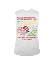 YOU CAN LEARN IN A ROOM Sleeveless Tee thumbnail