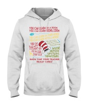 YOU CAN LEARN IN A ROOM Hooded Sweatshirt thumbnail