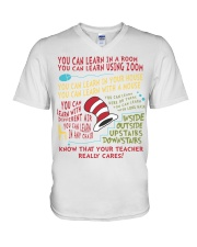 YOU CAN LEARN IN A ROOM V-Neck T-Shirt thumbnail
