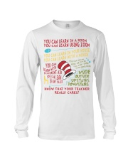 YOU CAN LEARN IN A ROOM Long Sleeve Tee thumbnail