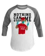 RED - NOTHING CAN STOP ME Baseball Tee thumbnail