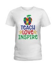 LOVE INSPIRE Ladies T-Shirt thumbnail