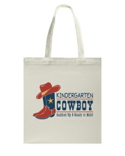 COWBOY KINDERGARTEN Tote Bag tile
