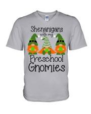 SHENANIGANS PRESCHOOL V-Neck T-Shirt thumbnail