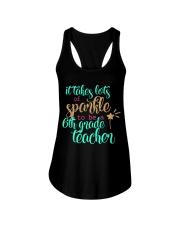 6TH GRADE TEACHER Ladies Flowy Tank thumbnail