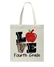 LOVE 4TH GRADE Tote Bag thumbnail