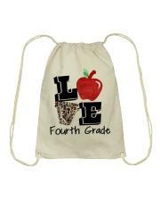 LOVE 4TH GRADE Drawstring Bag thumbnail