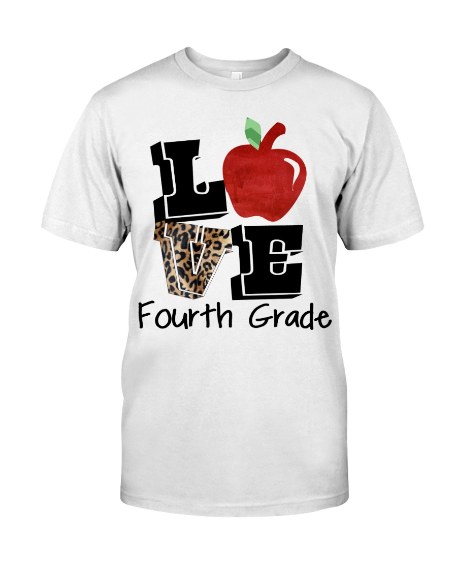 LOVE 4TH GRADE Classic T-Shirt